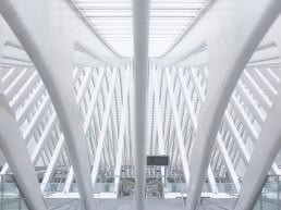 Bahnhog, Gare Liège-Guillemins, Lüttich, Belgien, Architektur